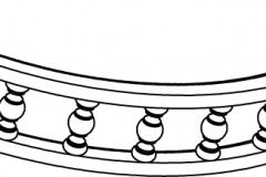 INF - ballustr - polukrug