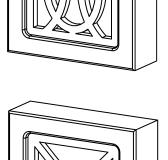 капители 75х75 в сборе с декорами О-Х