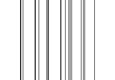 погонаж колонки декоративный 2500х75