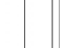 погонаж колонки декоративной 2320х50