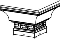 NIK 831 накладка угловая