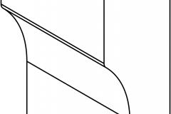 DEC 203 (ножка декоративная 50)NIKE.NIKE AVORIO