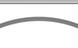 арка декоративная 1197x116 897x116 597x116 447x116