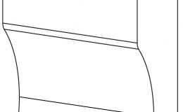 ножка цоколя колонки дек-ой 75х120x39