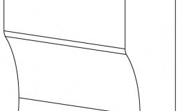 ножка цоколя колонки дек-ой 75х120x54